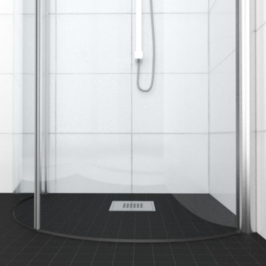 Architech Shower royalty-free 3d model - Preview no. 4