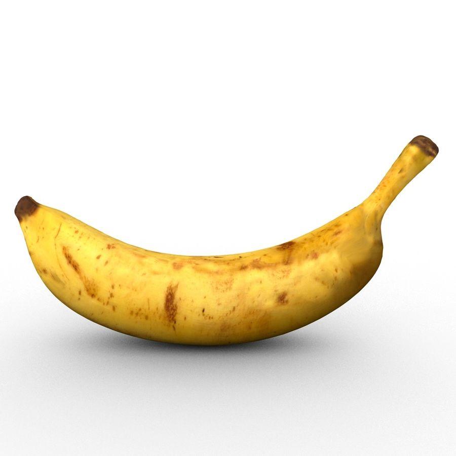 바나나 royalty-free 3d model - Preview no. 2