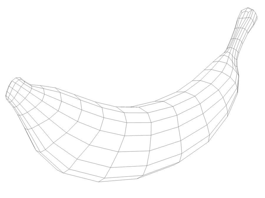 바나나 royalty-free 3d model - Preview no. 4