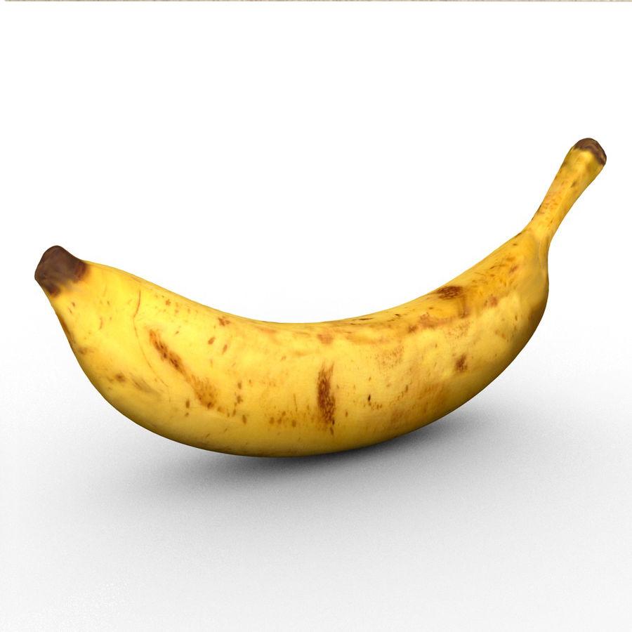 banana royalty-free 3d model - Preview no. 1
