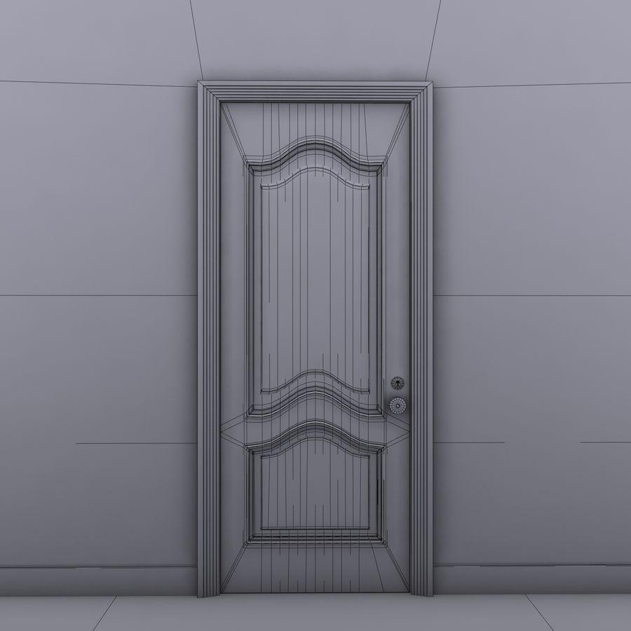 门 royalty-free 3d model - Preview no. 8