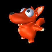 cartoon monster model 3d model