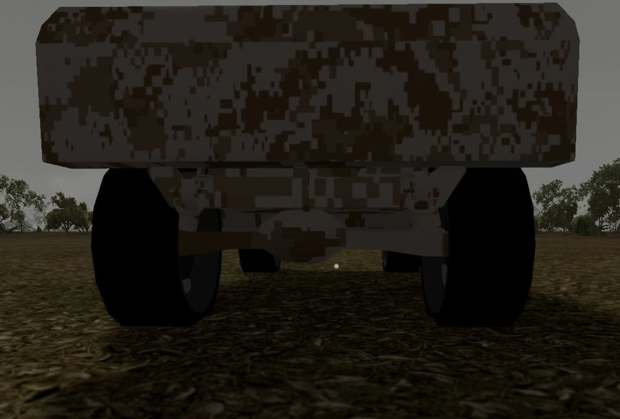 Humvee (Textured) royalty-free 3d model - Preview no. 13