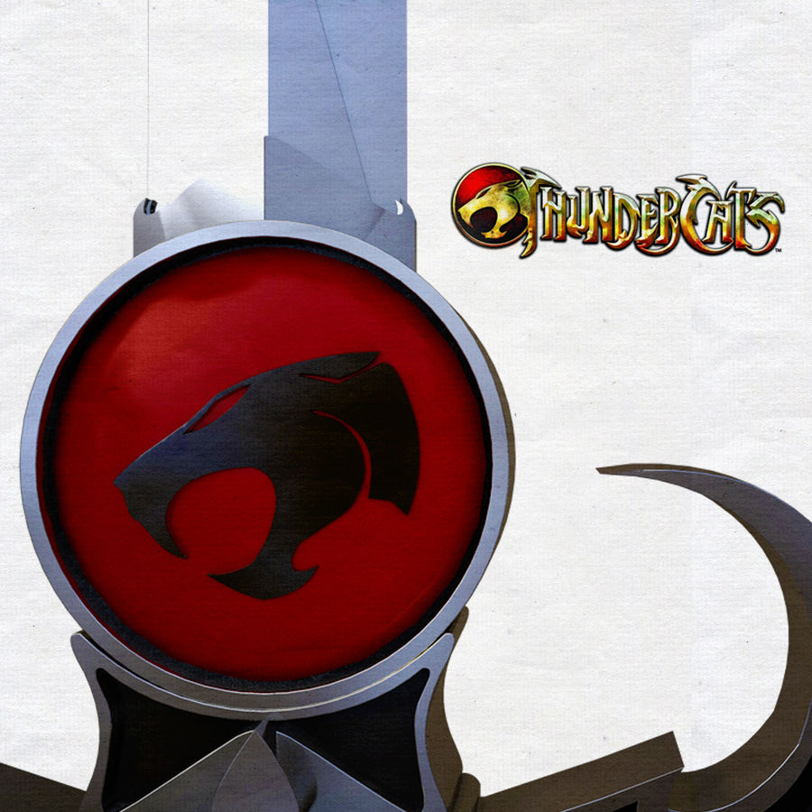 Thundercats Omens Sword royalty-free 3d model - Preview no. 1