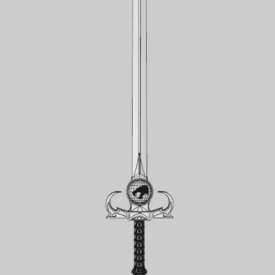 Thundercats Omens Sword royalty-free 3d model - Preview no. 8