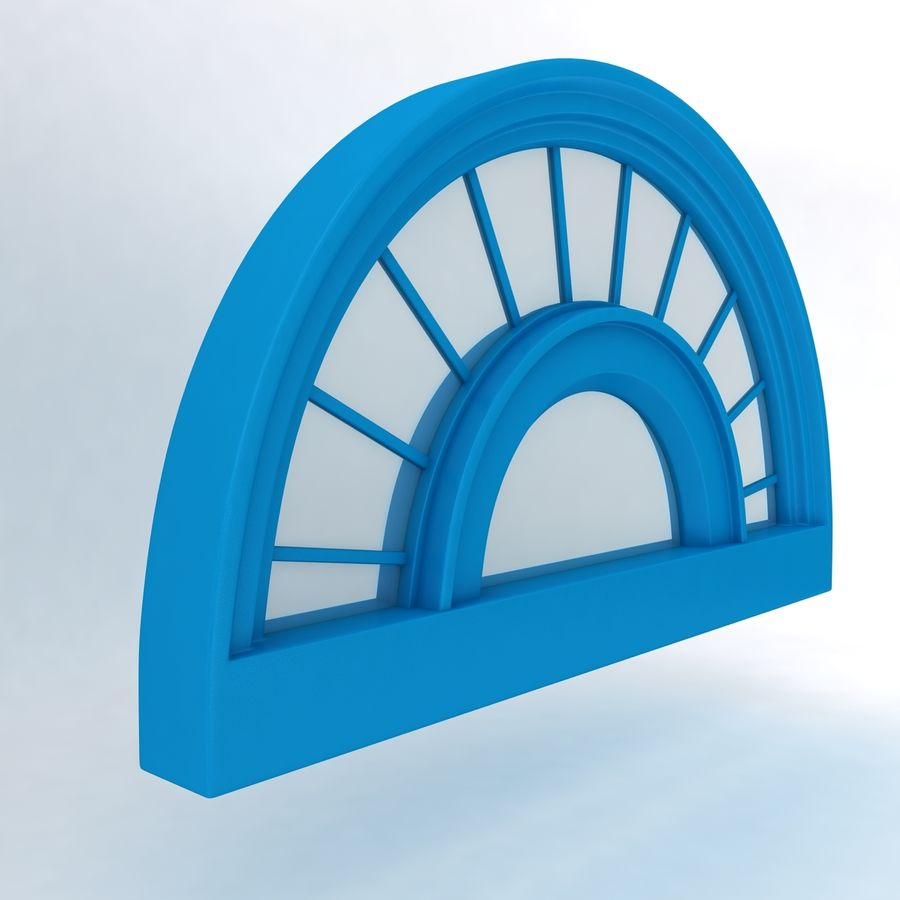 Window royalty-free 3d model - Preview no. 2