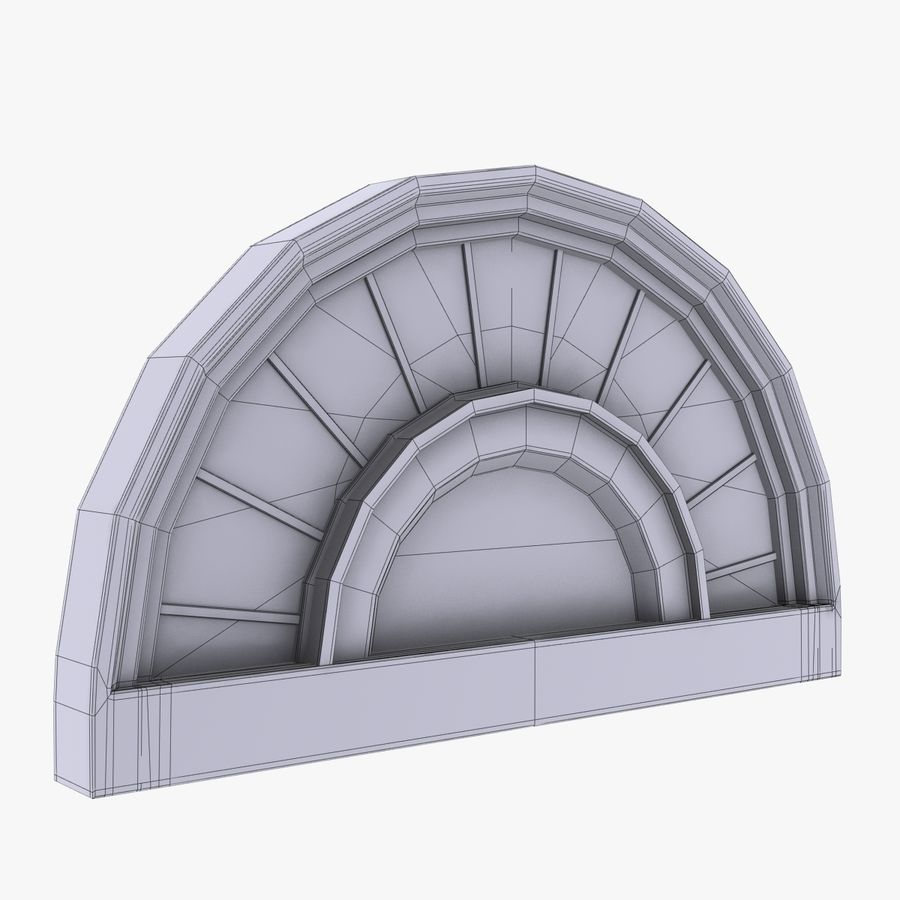 Window royalty-free 3d model - Preview no. 6