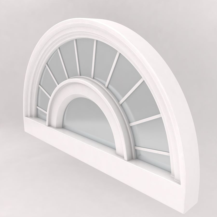 Window royalty-free 3d model - Preview no. 3