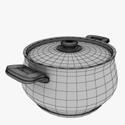 cooker pot 3d model