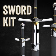 Kit Espada 3d model