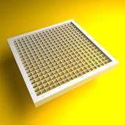 Вентиляционная решетка 1 (HQ) 3d model