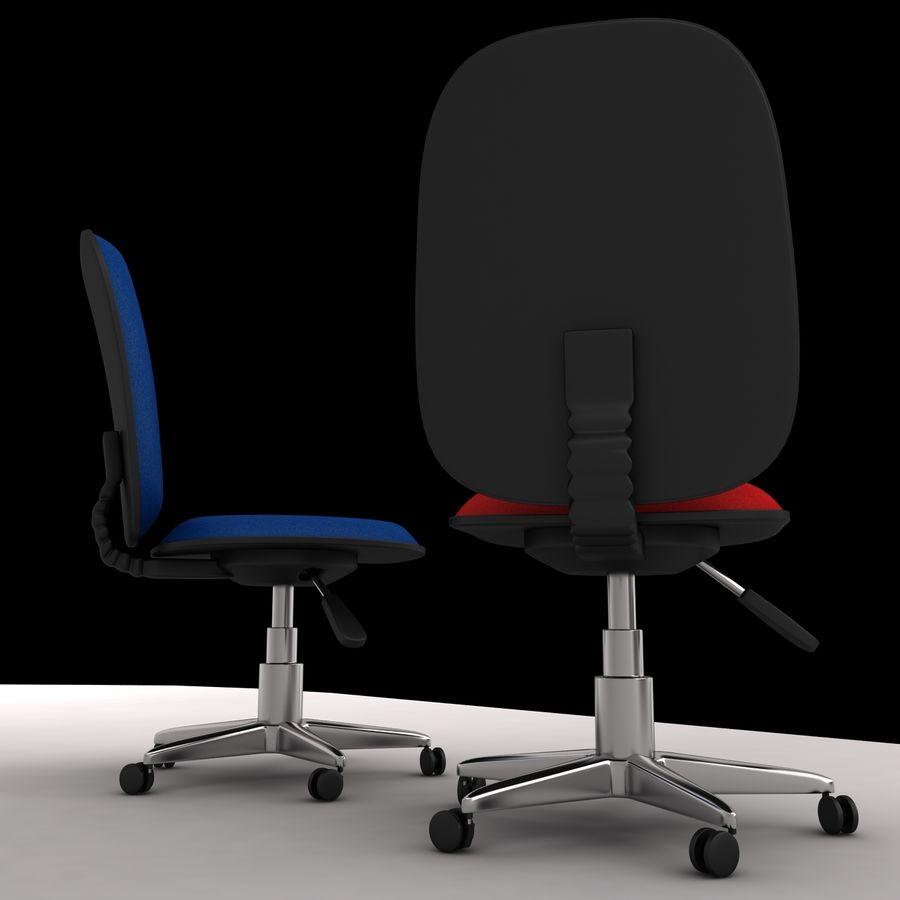 办公椅 royalty-free 3d model - Preview no. 4