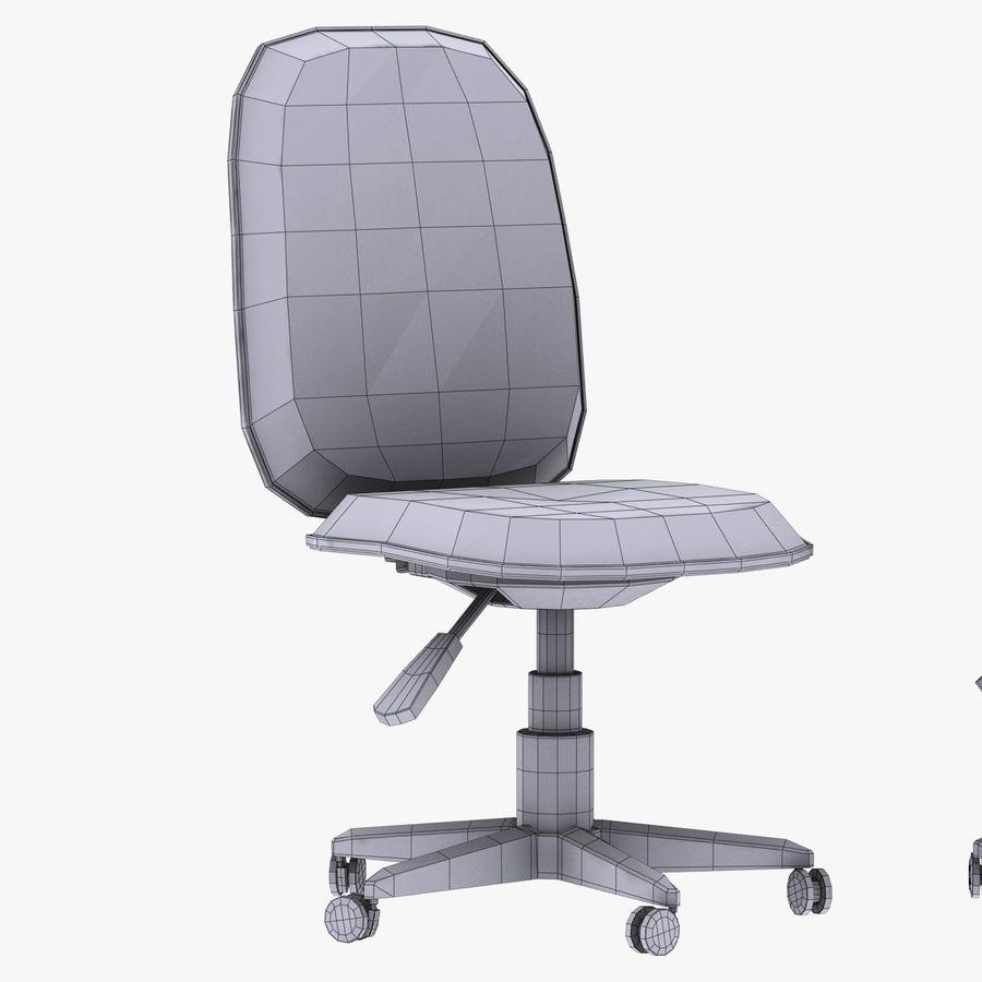 办公椅 royalty-free 3d model - Preview no. 7