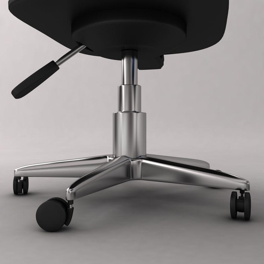 办公椅 royalty-free 3d model - Preview no. 5