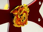 Krzyżowiec`s_shield 3d model