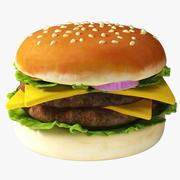 Burger 02 3d model