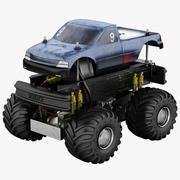 Zdalnie sterowany samochód 3d model