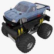 Автомобиль дистанционного управления 3d model