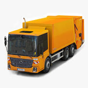 Mercedes Benz Econic 2014 Garbage Truck 3d model
