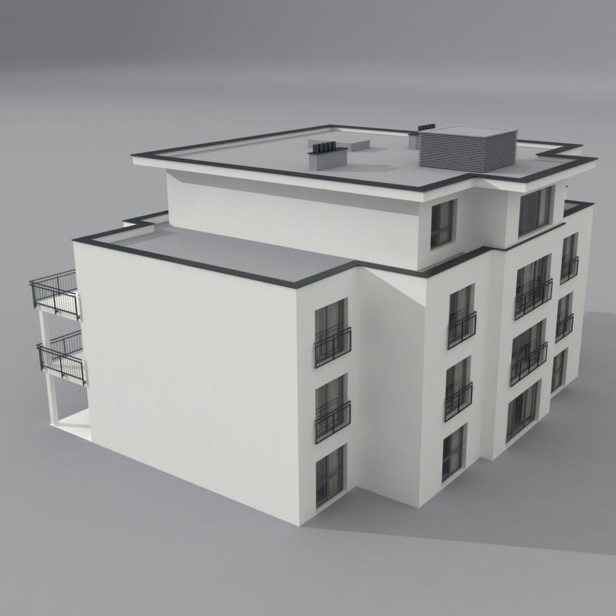 Budynek royalty-free 3d model - Preview no. 4