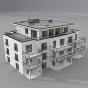 Byggnad 3d model
