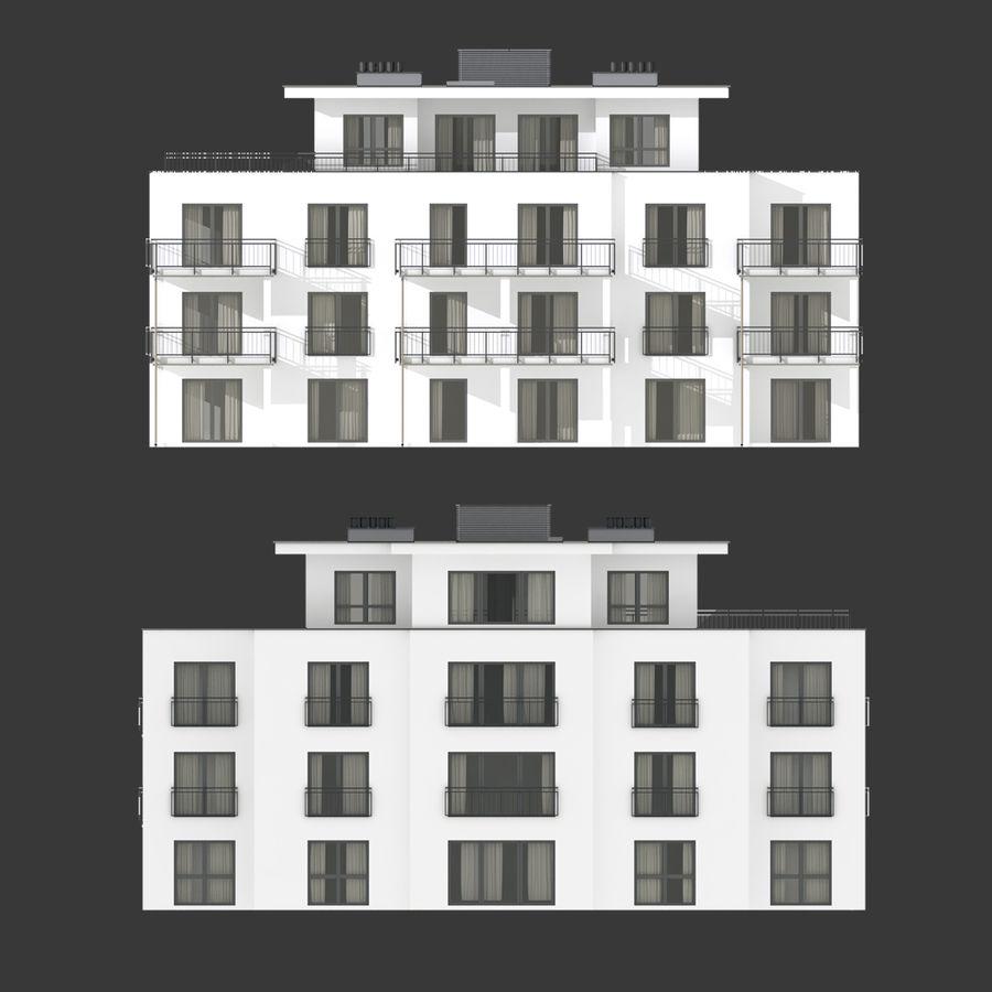 Budynek royalty-free 3d model - Preview no. 5