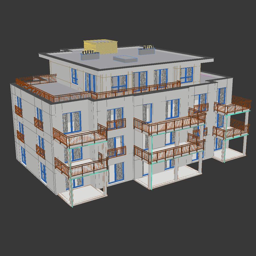 Budynek royalty-free 3d model - Preview no. 6