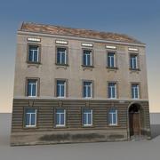 European Building 134 3d model