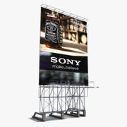 Tetto Billboard 3d model