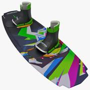 kiteboard 3d model