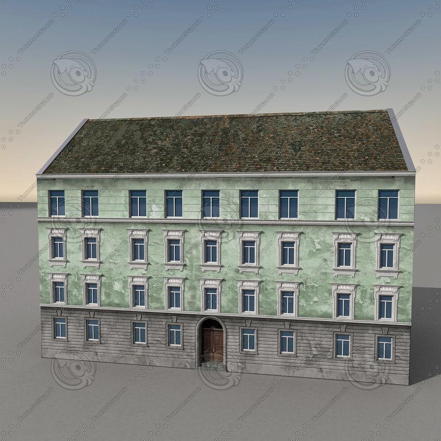 유럽 건축물 140 royalty-free 3d model - Preview no. 8