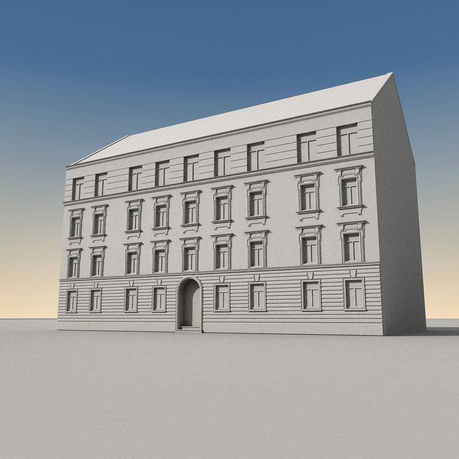 유럽 건축물 140 royalty-free 3d model - Preview no. 11