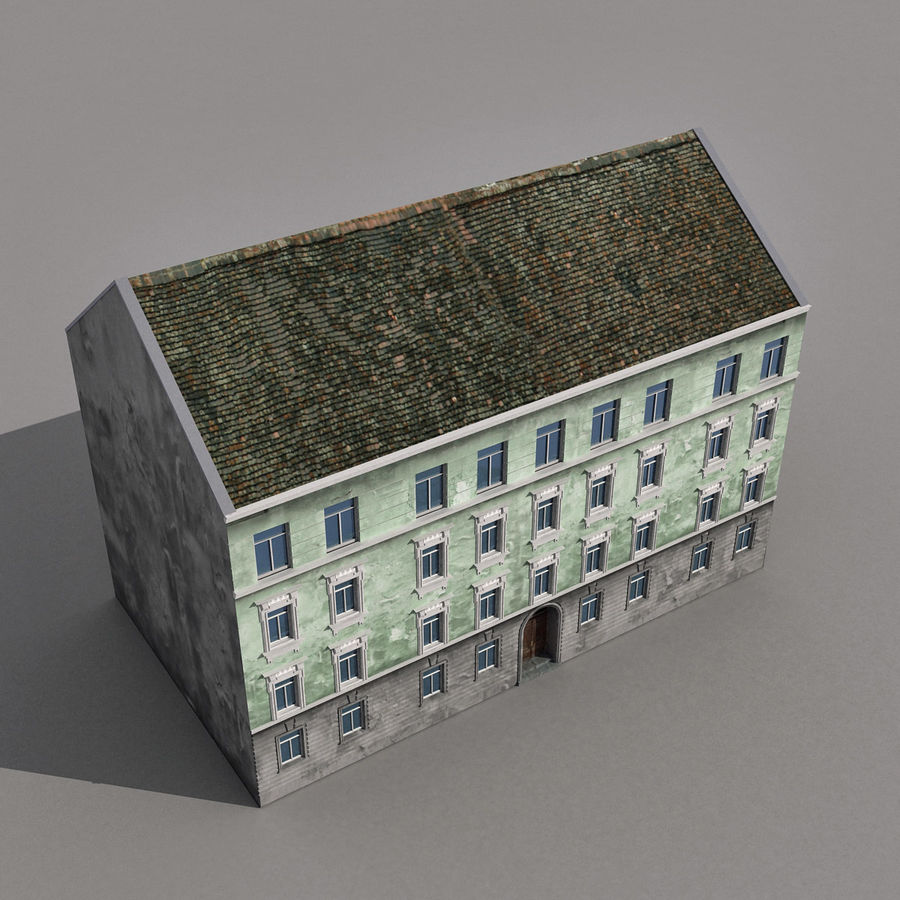 유럽 건축물 140 royalty-free 3d model - Preview no. 9