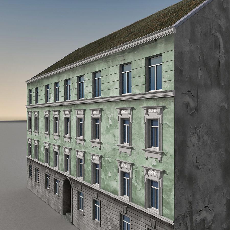 유럽 건축물 140 royalty-free 3d model - Preview no. 2