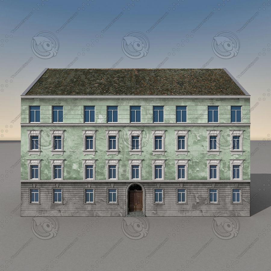 유럽 건축물 140 royalty-free 3d model - Preview no. 7