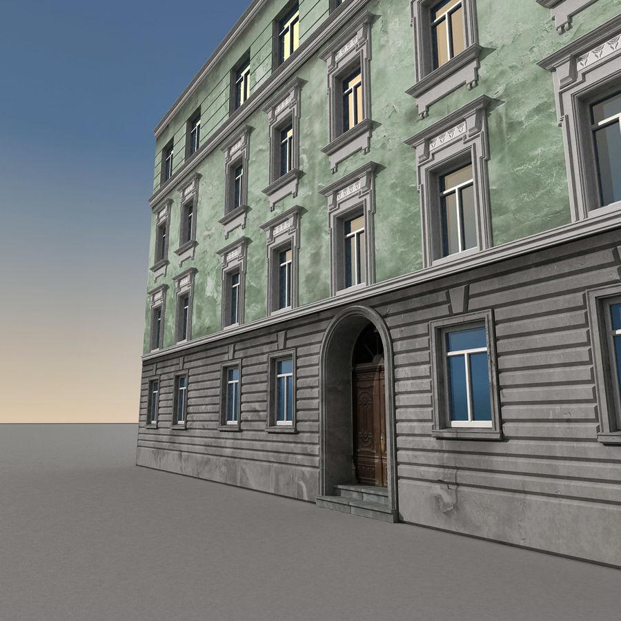 유럽 건축물 140 royalty-free 3d model - Preview no. 6