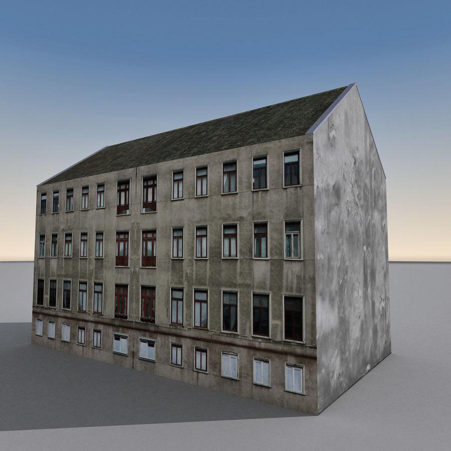 유럽 건축물 140 royalty-free 3d model - Preview no. 10
