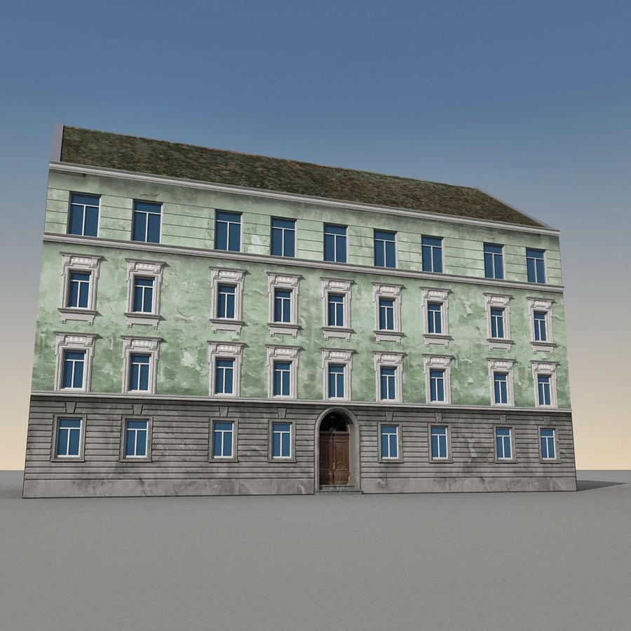 유럽 건축물 140 royalty-free 3d model - Preview no. 5