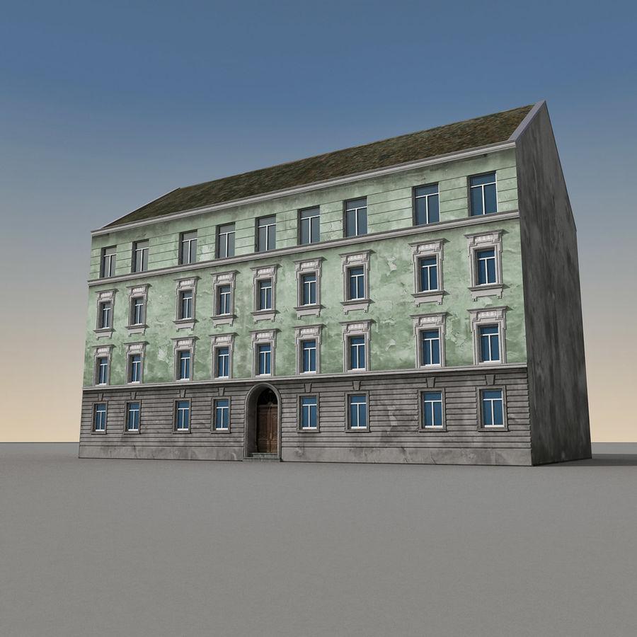 유럽 건축물 140 royalty-free 3d model - Preview no. 3