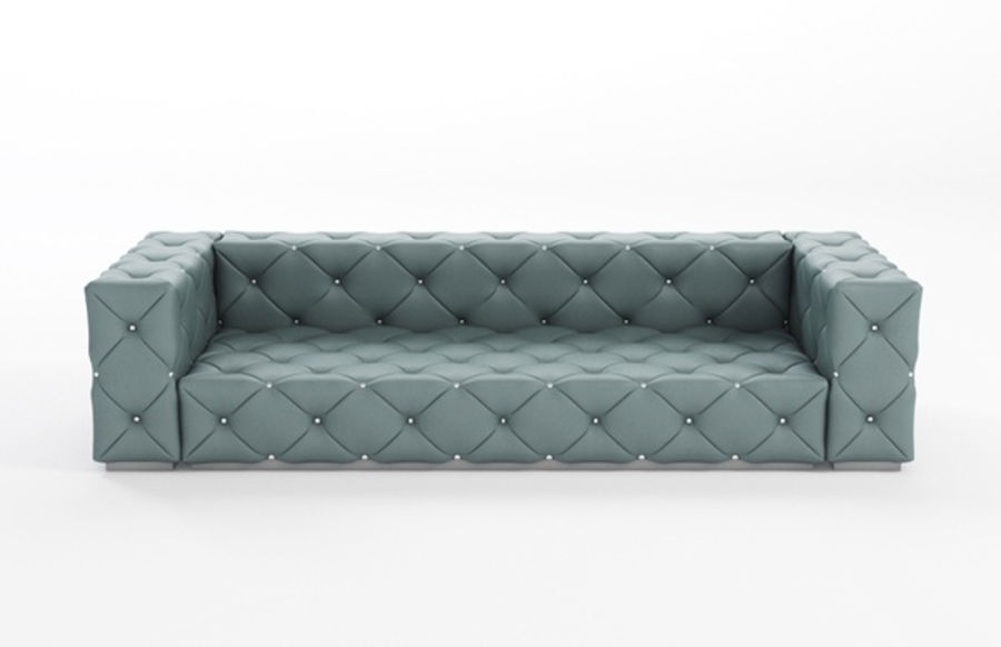 Wondrous Tufted Sofa Couch 3D Model 29 Obj Max Fbx Free3D Download Free Architecture Designs Grimeyleaguecom
