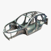 Cadre de voiture 3d model