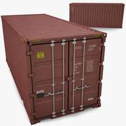 ISO 컨테이너 20ft 3d model