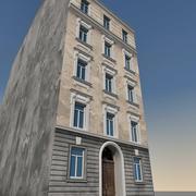 유럽의 건물 138 3d model