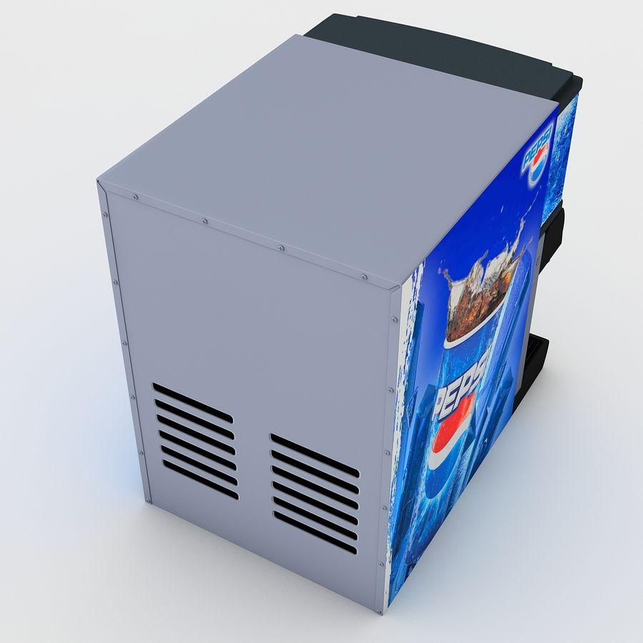 분수 음료 기계 royalty-free 3d model - Preview no. 11