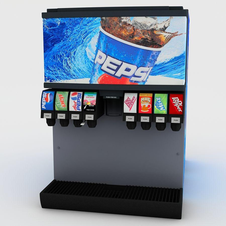 분수 음료 기계 royalty-free 3d model - Preview no. 6