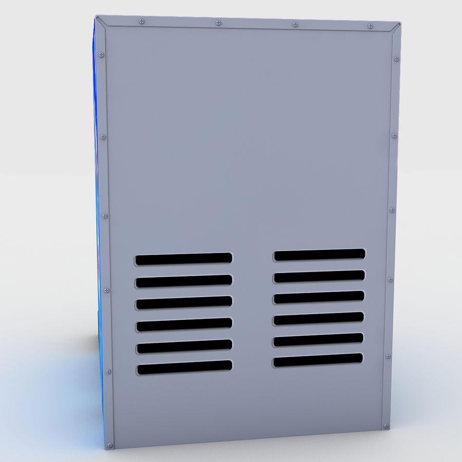 분수 음료 기계 royalty-free 3d model - Preview no. 7