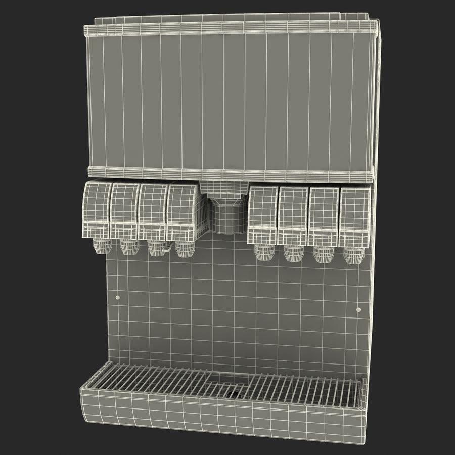 분수 음료 기계 royalty-free 3d model - Preview no. 15