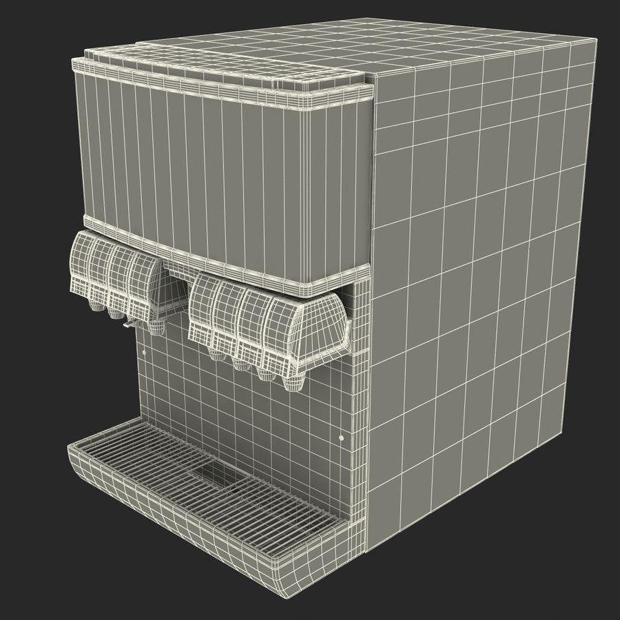 분수 음료 기계 royalty-free 3d model - Preview no. 13