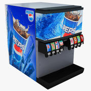 Fountain Drink Machine 3d model