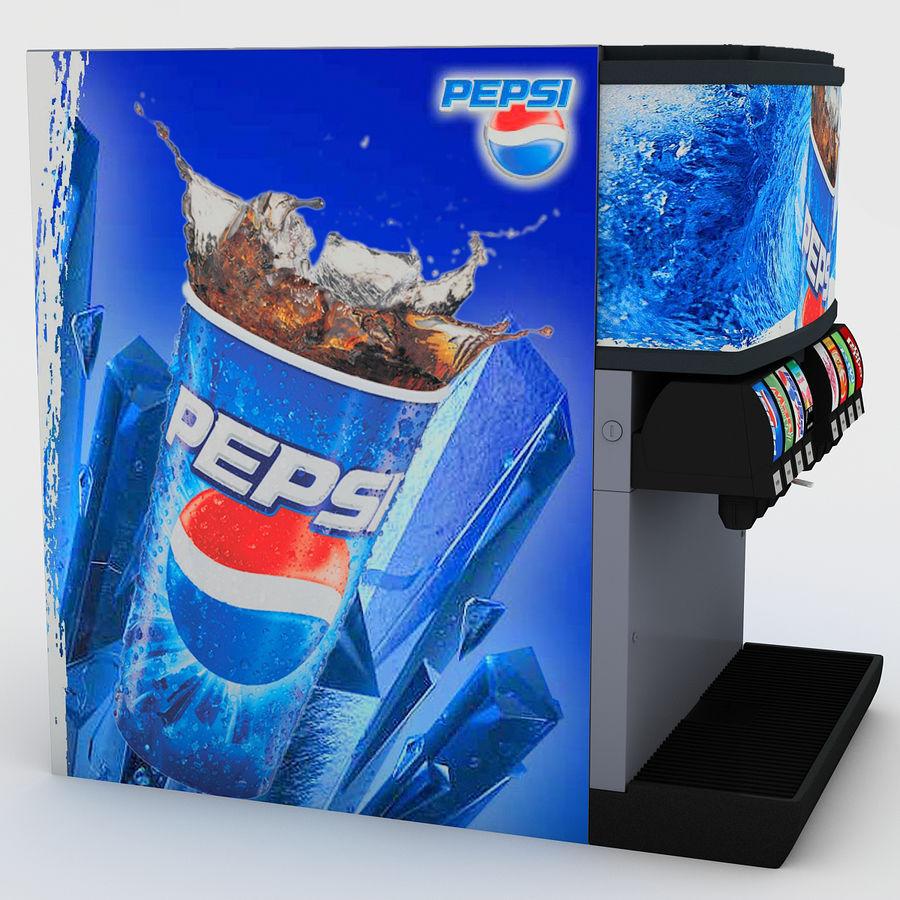 분수 음료 기계 royalty-free 3d model - Preview no. 5
